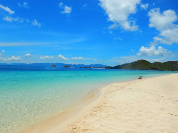 Banana island beach