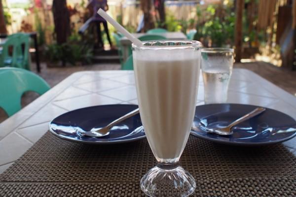 fresh buko shake