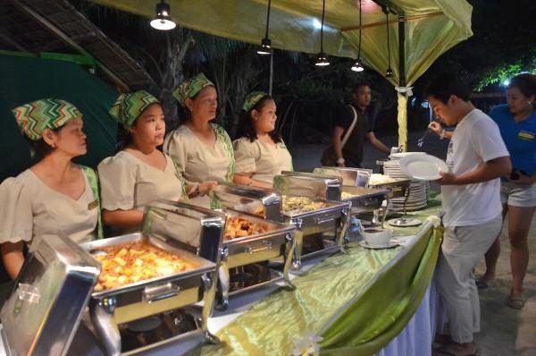 Dinner at Laiya Cocogrove