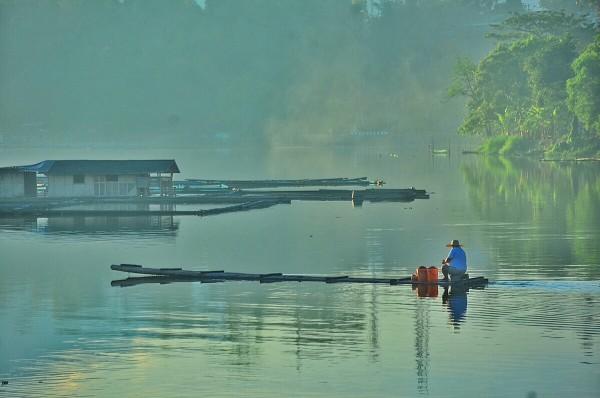 Early Morning in Sampaloc Lake