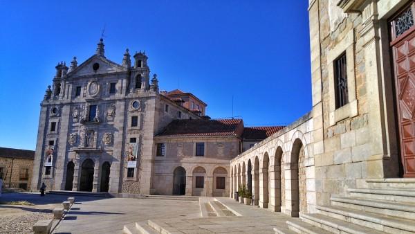 Facade of Iglesia Convento de Sta Teresa
