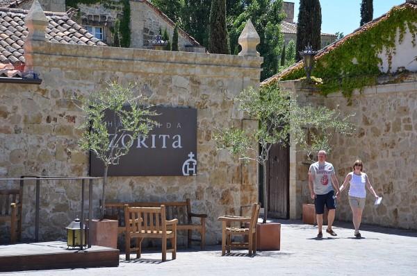 Hacienda Zorita Wine Hotel in Salamanca