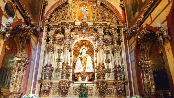 Image of Sta Teresas of Avila by the master Gregorio Fernández