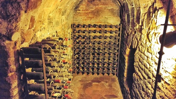 Inside the Underground Wine Cellar