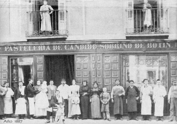 Sobrino de Botin circa 1887