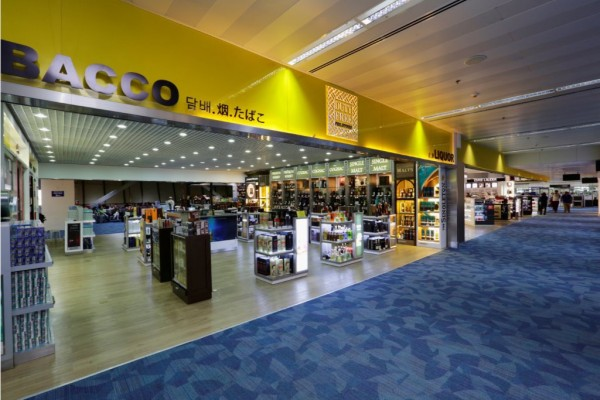 Terminal 1 Departure Area Duty Free Shops