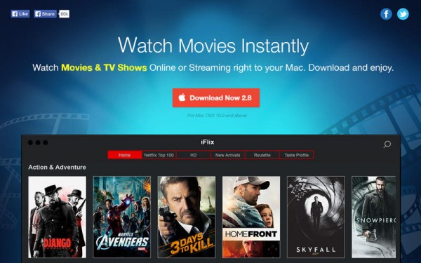 Watch Movies and TV Shows via iFlix