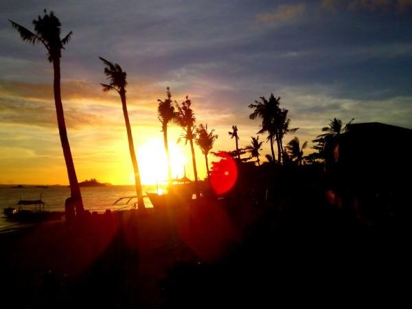 Watch the romantic sunset at Ocean Vida