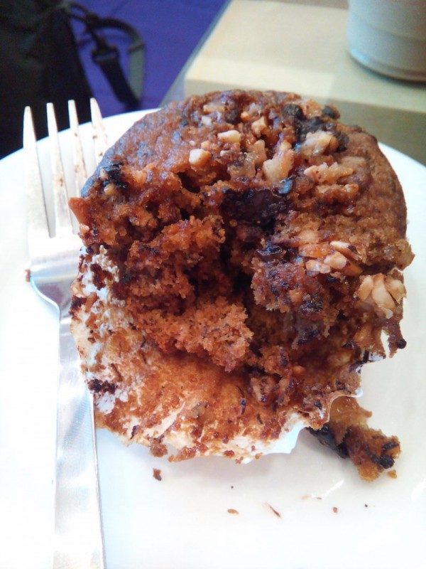 banana toffee muffin