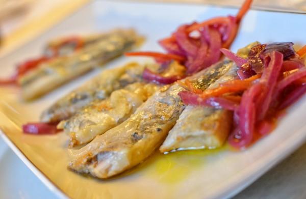 pickled sardine loin
