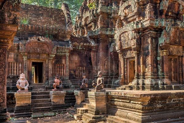 Bantay Srei Temple in Siem Reap