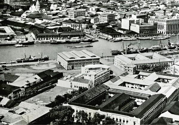 Birds eye view of Manila Circa 1941