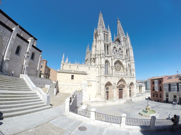 Burgos Cathedral in Spain