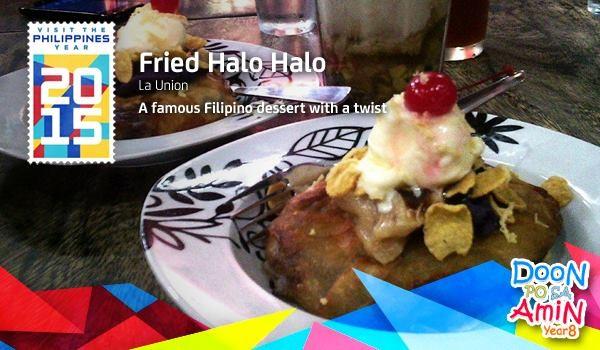 Doon po sa Amin Fried Halo Halo entry