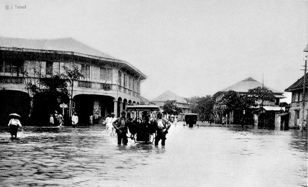 Flood in Manila circa 1905