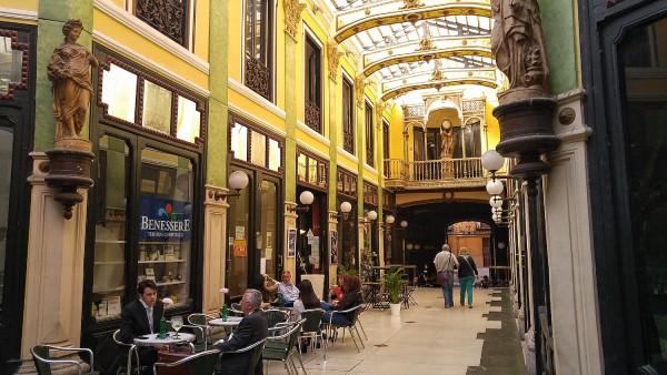 Inside Pasaje Guiterrez