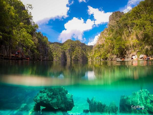 Kayangan Lake in Coron Palawan