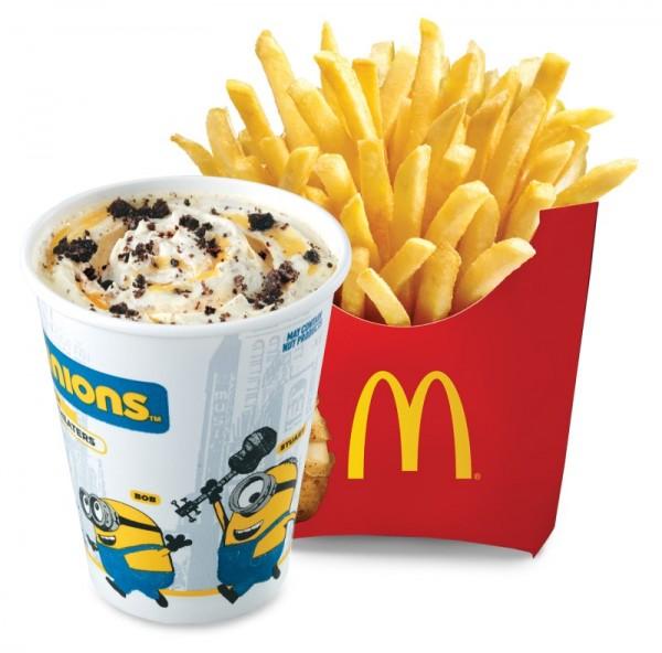 Minions Medium Fries 'N McFlurry Combo
