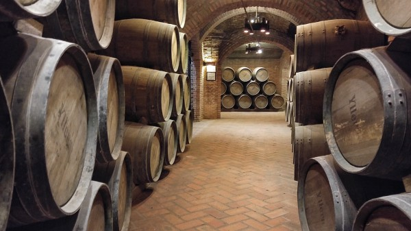Old Barrels of Wine