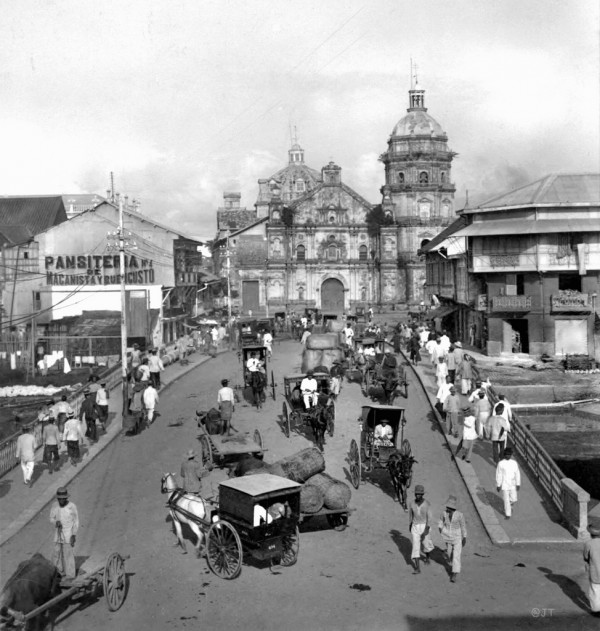 Old Photo of Binondo Church