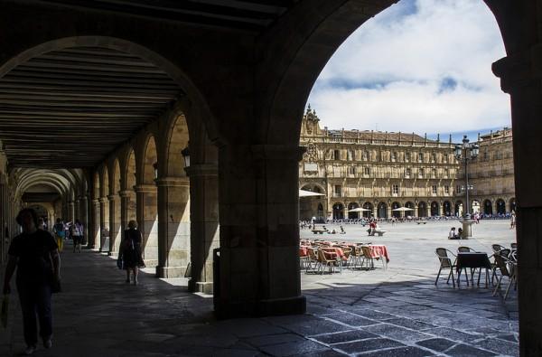 Plaza Major in Salamanca