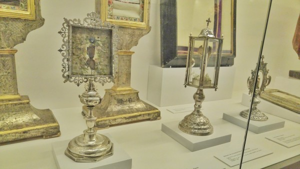 Various relics of St Teresa