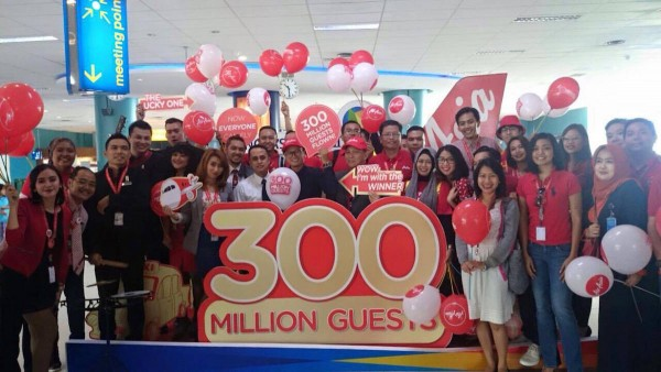 AirAsia 300 Million Guests
