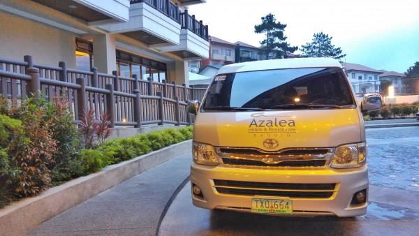 Azalea Baguio Service Van