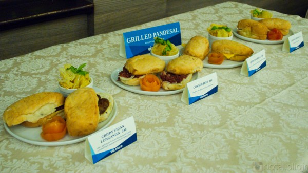 Breakfast showcase: Grilled Pandesal choices