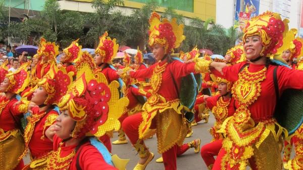 Colorful Costumes at Sandugo Festival