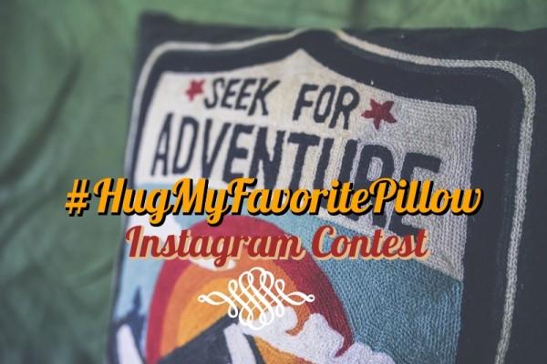 #HugMyFavoritePillow Instagram Contest