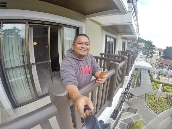 Selfie at the Veranda