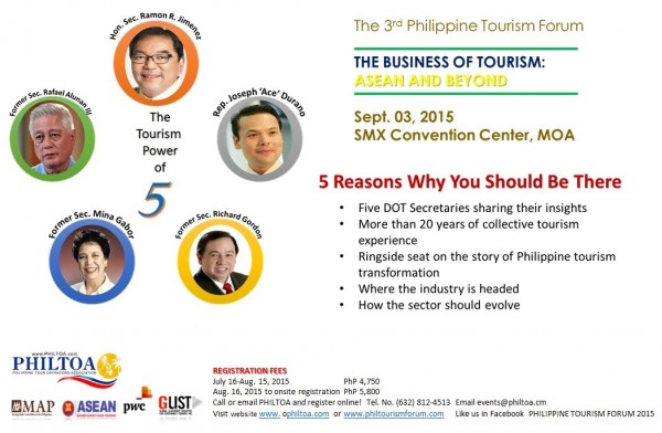 The Tourism Power of 5