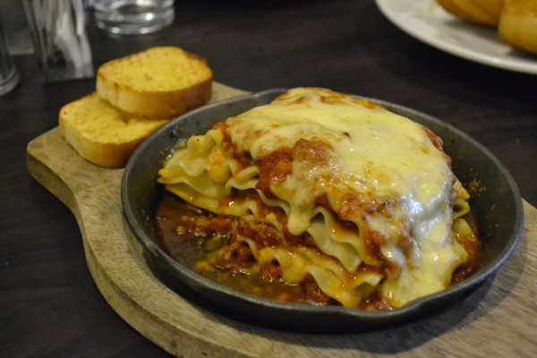 J's famouse baked lasagna