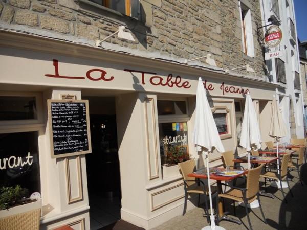 La Table de Jeanne, Vannes
