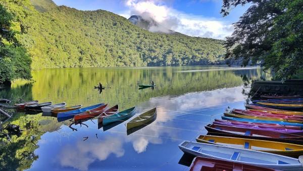 Sample Landscape Photography using Canon M3 - Bulusan Lake Philippines