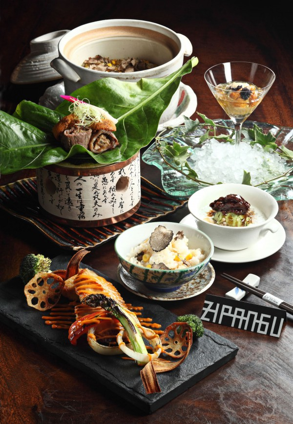 Signature Dishes by Zipangu New Chef Hiroaki Karasawa