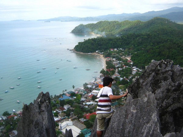 Taraw Cliff in El Nido