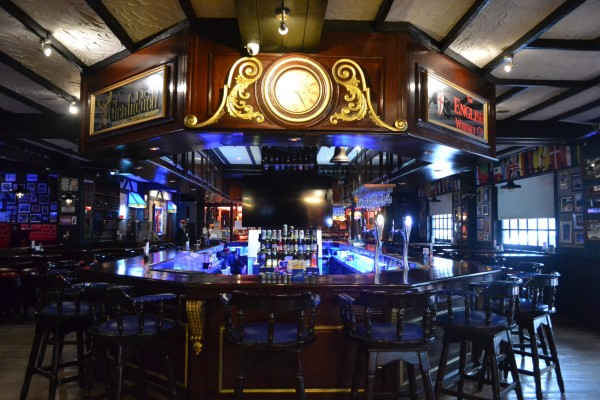 british inspired bar