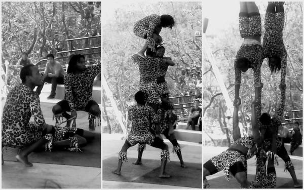 Balancing Act featuring African Acrobats Show