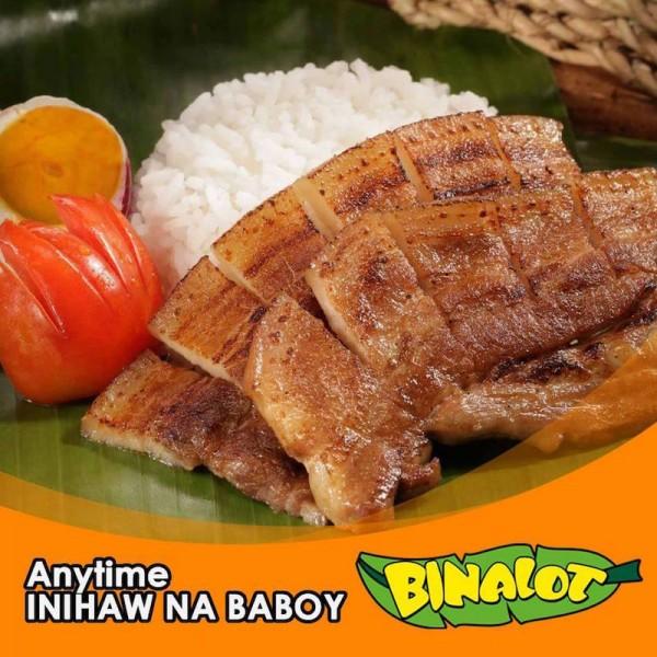 Inihaw na Baboy from Binalot