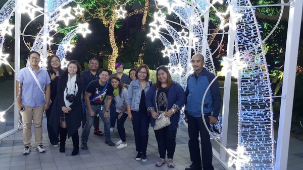 Our Group Shot at Ansan Star Village