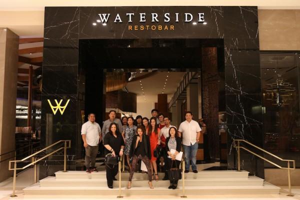 Participants at Waterside Restobar