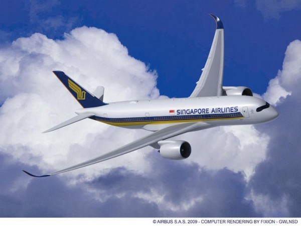 Singapore Airlines A350-900s