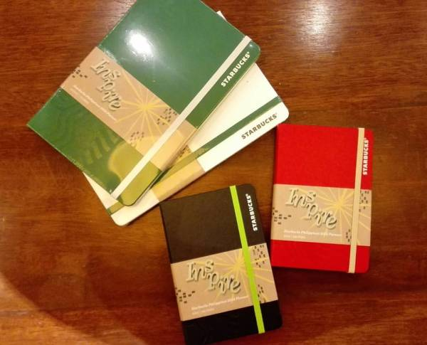 Starbucks Philippines 2016 Planners by Moleskin