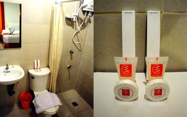 Bathroom and toiletries