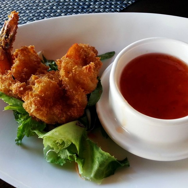 Coconut Prawns - Pre-lunch Bites Courtesy of The Bay Beach Club