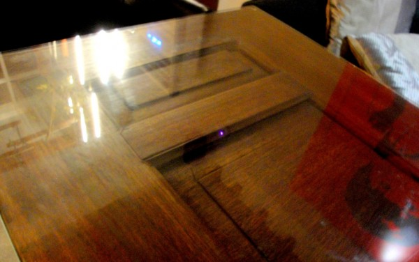 Door reused as table