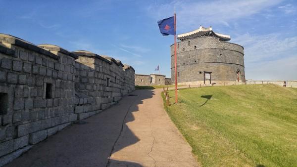 Guided walking tour at Suwon Hwaseong Ancient Fortress