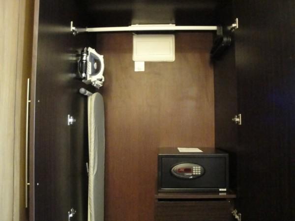 Ironing kit and safety deposit box